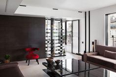 Cave à vin design sur mesure de luxe