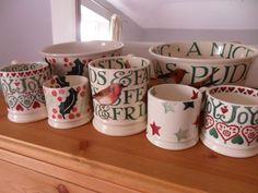 Emma Bridgewater Joy Baby Mug and 0.5 Pint Mug