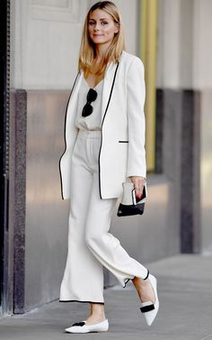 Tiny Miracle: Olivia Palermo's Awesome Zara Pants Are Still Available via @WhoWhatWear