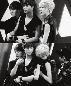 EXO - Baekhyun & Kai Kim Jongin & Sehun