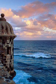San Juan, Puerto Rico go see El morro.