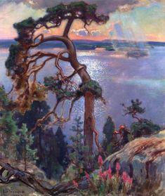 EERO JARNEFELT  Scenery from Koli