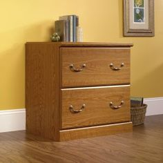 Sauder Lateral File Cabinet Oak