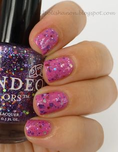 Candeo Colors Sweet Sierra over Essie Madison Ave-Hue
