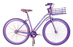Chic designer bikes by Lorenzo Martone. 3 gear waterproof hub, ideal for your urban commute or leisure ride. Mc2, Bicycle Decor, Purple Love, Purple Things, Alzheimers Awareness, Killer Workouts, The Chic, Get In Shape, Color Combos
