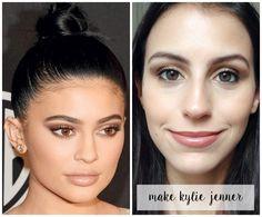 Tutorial Inspirado na Make da Kylie Jenner no Golden Globes | New in Makeup