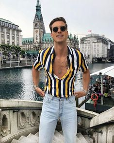 38 awesome mens style ideas for summer 24 ⋆ talkinggames net is part of Hipster mens fashion - 38 awesome mens style ideas for summer 24 80s Fashion, Urban Fashion, Fashion Trends, Vintage Fashion Men, Fashion Clothes, Fashion Kids, Fashion Boots, Trendy Fashion, Fashion Inspiration