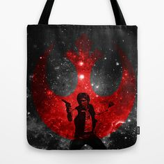 Star Wars * Han Solo * Movies Inspiration Tote Bag by Movies & Tv series & Music by Geralt de  - $22.00
