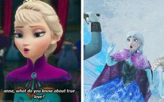Elsa foreshadowing the future
