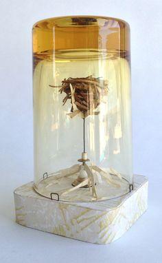 miniature glass diorama