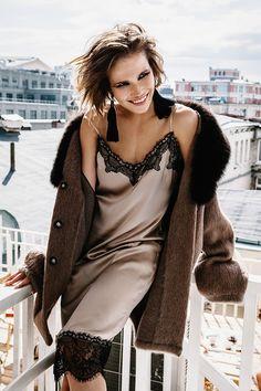 Лучшие платья-комбинации из новых коллекций и как их носить - Fresh - Свежий взгляд на стиль