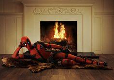 Ryan Reynolds Shares Official Deadpool Movie Costume Photo