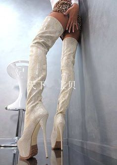 Cheap shoes woman, Buy Quality leather thigh high directly from China leather thigh high boots Suppliers: Senior custom women winter leather thigh high boots round toe sexy platform high heel boots python printed shoes woman Super High Heels, High Shoes, Hot High Heels, High Heels Stilettos, Stiletto Heels, Women's Shoes, Dress Shoes, Thigh High Boots, High Heel Boots
