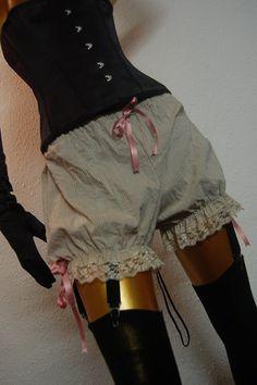 Steampunk Victorian Bloomers Vintage Lolita by lovechildboudoir, $32.00