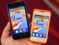 Yezz's cheap Foxy 3.5, 4 Firefox phones (hands-on) Small and simple, these two Firefox phones are headed for emerging markets.