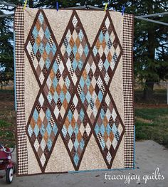 """""""pure baby diamonds"""" (from traceyjay quilts)"""