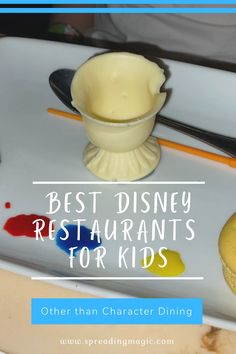 So, you've booked your Walt Disney World Resort vacation. Now what? You may start thinking about where you'd like to eat! Dining reservations are currently available up to 60 days in advance. Today, we are sharing with you the best Disney World restaurants for kids, outside of character dining experiences. #DisneyWorld #DisneyDining #DisneyRestaurants Best Disney World Restaurants, Disney World Resorts, Walt Disney World, Disney World Facts, Disney Facts, Dining At Disney World, Disney Dining, Vacation Resorts, Hotels And Resorts