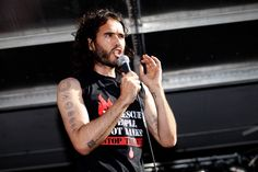 Russell Brand Calls For Peaceful Revolution Once Again In London