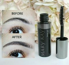 Say goodbye to uneven or scarce brows. Fill them in for a full and defined look to shape your eyes with MK Brow Enhancer.   Inner Beauty~ www.marykay.ca/Jtlg