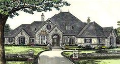 House Plan 66246 | Southern    Plan with 4270 Sq. Ft., 4 Bedrooms, 5 Bathrooms, 4 Car Garage