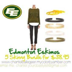 Edmonton Eskimos order these skinny bundles chantel.yourcbastylist@gmail.com
