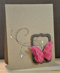 great use of a doodle stamp, love the layout - handmade card