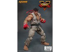Street Fighter V 1:12 Scale Figure - Ryu - Street Fighter Figures