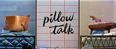 Opening credits from 'Pillow Talk' directed by Michael Gordon, starring Rock Hudson, Doris Day, Tony Randall and Thelma Ritter. Movie Titles, Movie Tv, Thelma Ritter, Art Of The Title, Tony Randall, Touched By An Angel, Rock Hudson, Opening Credits, Hello Ladies