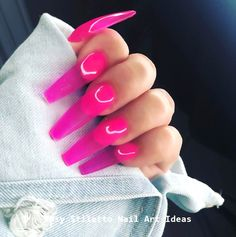 jelly nails it is Nails & Co, Stiletto Nail Art, Jelly Nails, Nagel Gel, Best Acrylic Nails, Dope Nails, Perfect Nails, Trendy Nails, Nails Inspiration