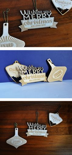 Personalized ornament (with custom engraving)