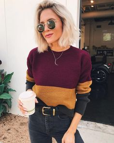 "4,572 Synes godt om, 51 kommentarer – Jordan & Kemper (@joandkemp) på Instagram: ""cozy knit + coffee kinda day ☕️ linked in some of my favorites (this one is sold out, boo)…"""