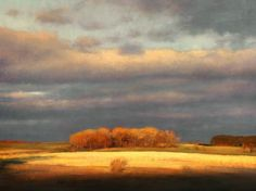 Autumn landscape paintings Fall color landscape Impressionism Minnesota landscape painting Christopher Copeland