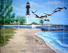 Custom Ceramic Tile Murals by Kathy Carroll | Hatch.co