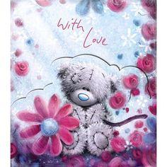Tatty Teddy Amongst Flowers