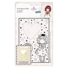 doCrafts Santoro Gorjuss, Cut & Emboss Folder - Little Heart - Scrapbooking Made Simple Stocking Fillers For Her, Crafts To Do, Paper Crafts, Santoro London, Card Making Supplies, Little Fish, Shaker Cards, Embossing Folder, Die Cutting