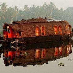 Boat in India