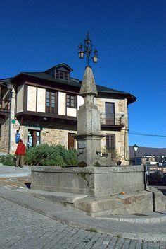 Una vista de Puebla de Sanabria, Zamora #Spain