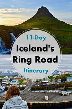 in Iceland Complete Itinerary for the Ring Road We drove around the entire country of Iceland on the Ring Road Iceland Road Trip, Iceland Travel Tips, Places To Travel, Travel Destinations, Places To Go, Iceland Adventures, European Travel, Travel Europe, Travel Around The World