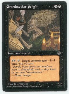 Magic The Gathering ~ 1x Undertow ~ Legends ~ M//NM