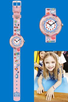 Learning the time just got a fun boost thanks to WOW LOVE (ZFBNP135). Give this as a gift to children and let them walk on the wild side with unicorns, while glitter and sparkle are leading the way. This kids textile watch in pink also features a digital printed dial with gemstones, alongside a transparent plastic case. Lead The Way, Plastic Case, Unicorns, Swatch, Sparkle, Thankful, Glitter, Gemstones, Love