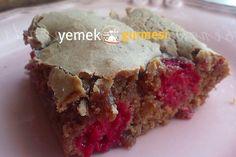 Çikolatalı Frambuazlı Kek - http://www.yemekgurmesi.net/cikolatali-frambuazli-kek.html