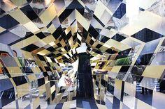 Gucci's holiday window display - Photo: Jika González for BizBash