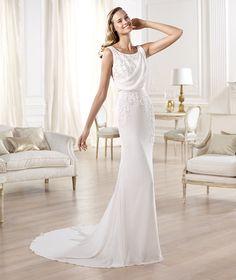 Vestidos de novia 2014 de Pronovias vintage - Modelo Olivei Pronovias