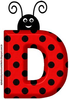 Fancy Letters, Monogram Letters, Lady Bug, Ladybug 1st Birthdays, Alfabeto Animal, Diy Classroom Decorations, Quilling Letters, Alien Drawings, Alphabet Templates