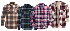 How To Notch Up Your #Flannel #Shirts? Watch Out For Some Rocking Tips!