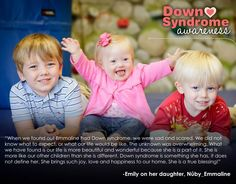 Emmaline; Peace, Love & Down Syndrome @National Down Syndrome Society