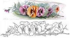 Resultado de imagem para panos de prato pintados /semaninha