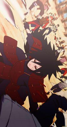 Madara Uchiha is one of the most legendary and famous Uchiha clan leaders. Living since the war era, he still caused problems until the Naruto era. Itachi Uchiha, Naruto Shippuden Sasuke, Minato E Naruto, Madara Susanoo, Wallpaper Naruto Shippuden, Naruto Wallpaper, Boruto, Otaku Anime, Anime Naruto