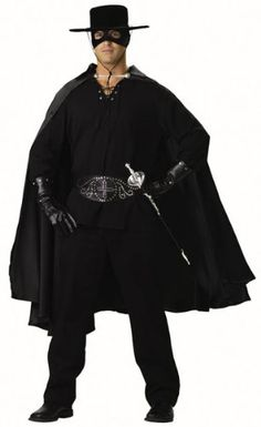 Adult Zorro Bandit Halloween Costume (Large 42-44) Best Reviews