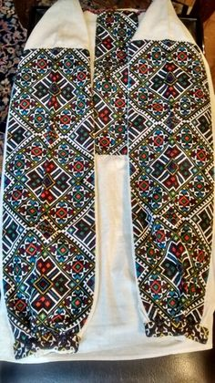 Antique Ukrainian blouse.